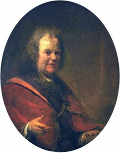 Herman Boerhaave, in a portrait by Aert de Gelder in 1722