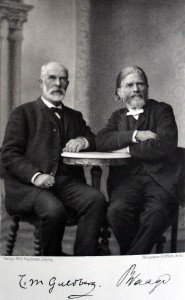 Norwegian chemist Cato Guldberg and the mathematician Peter Waage